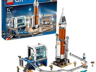 lego City Deep Space Rocket   launch Control