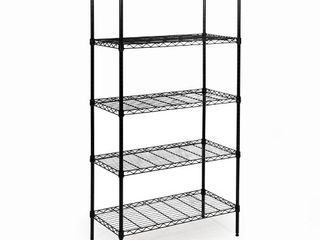 Seville Classics 5 Tier Epoxy Steel Wire Shelving