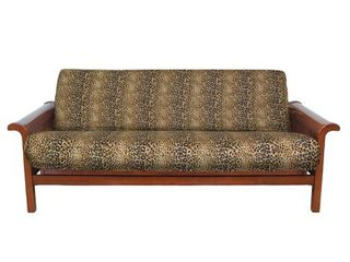 Cheetah Cotton Rich Futon Cover