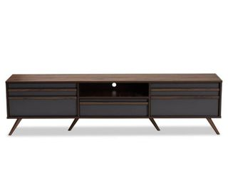 Naoki Modern   Contemporary TV Stand  INCOMPlETE ITEM