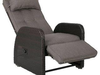 Ostia Wicker Recliner w  Cushion by CKH