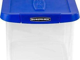 Bankers Box Heavy Duty Plastic File Storage SEE DESCRIPTION