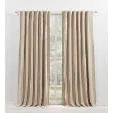 Ralph lauren Waller Blackout Back Tab Rod Pocket Curtain Panels SET OF 2