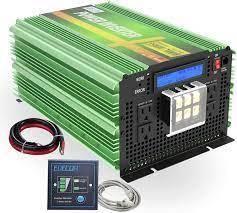 Edecoa Power Inverter Pure Sine Wave