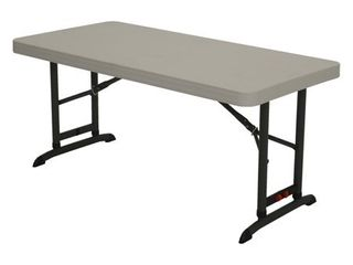 lifetime Products Commercial Adjustable Folding Table