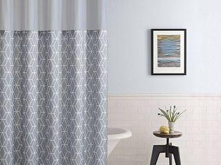 Hookless Shower Curtain Prism w  Peva liner