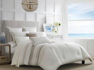 Nautica Saybrook Cotton Duvet Cover Set King Size