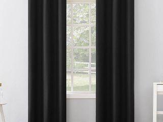 Sun Zero Cyrus Thermal Total Blackout Grommet Curtain Panels SET OF 2