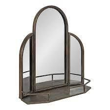 Kate   laurel Garcelle Arched Wall Mirror