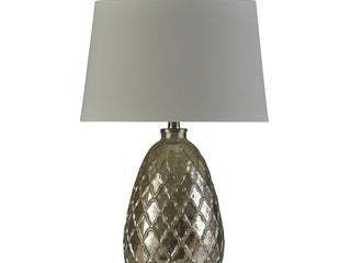 Stylecraft Mercury Textured Glass Table lamp