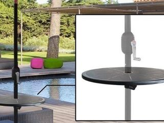 Maypex Adjustable Outdoor Umbrella Round Table Top Base