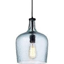 Belinda Mouth Blown Small Glass Pendant Chandelier