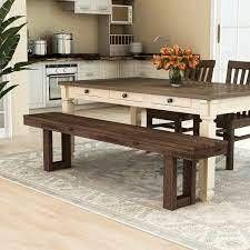 Furniture of America Treville Country Plank Style Dining Bench
