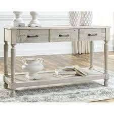 The Gray Barn Hickory Homestead Sofa Table