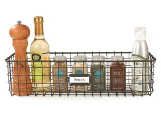 Spectrum Vintage Wall Mount Baskets 2 PACK