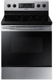 Samsung 5 9 cu  ft  Freestanding Electric Range Stainless