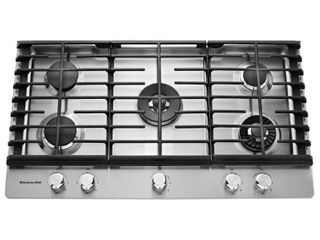 KitchenAid   36  Built In Gas Cooktop   Stainless steel