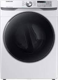 Samsung DVE45R6100W A3 7 5 cu  ft  Electric Dryer