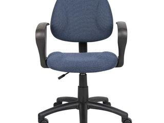 Boss Office   Home Beyond Basics Adjustable Office Task Chair with loop Arms