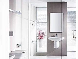 HOMFA Bathroom Wall Mirror Cabinet  27 6 X 23 6