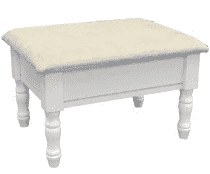 Home Craft Footstool with Storage