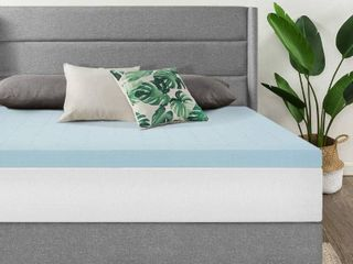 Best Price Mattress 2 5 Inch Memory Foam Mattress Topper with Cooling Gel Infusion Queen