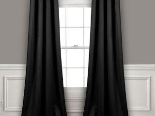 lush Decor Insulated Grommet Blackout Curtain Panel Pair   Retail  59 89