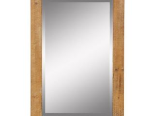 Morris Wall Mirror   Nutmeg 36 x 24   Retail 88 99