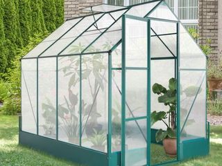 OutSunny Plant Greenhouse Polycarbonate Panels For Walk In Plant Greenhouse