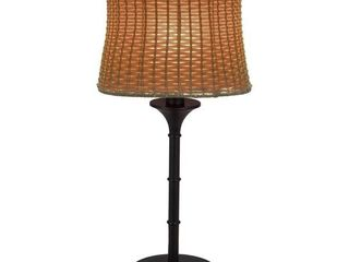 Pocologan Brown 25 25 in  Outdoor Table lamp   Retail   101 99