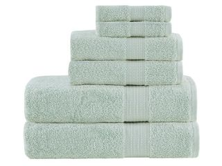 Madison Park Organic 6 Piece Cotton Towel Set   Retail   46 99