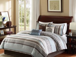 Madison Park   Harvard 7 piece Comforter Set   Retail 139 97