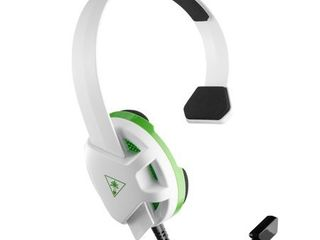 Turtle Beach Recon Chat Gaming Headset for Xbox One Series X S   White Green