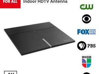 One For All 16472 Amplified Indoor Smart HDTV Antenna   Supports 4K 1080p