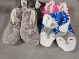 women s slippers 4 pr