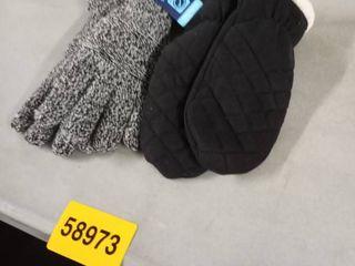 winter gloves 2prs