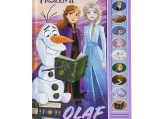Disney Frozen 2 I m Ready to Read with Olaf Sound Book  Hardcover