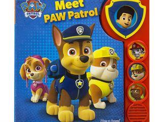 Play A Sound  Nickelodeon  Meet Paw Patrol  Meet Paw Patrol  Board Book