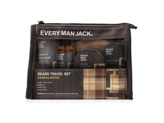 Every Man Jack Amplified Gifting Beard Travel Set   Sandalwood   Trial Size   5ct