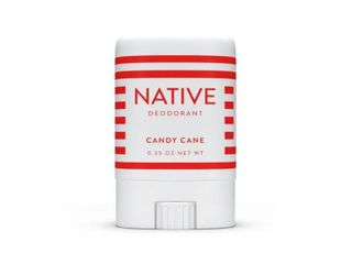 Native limited Edition Holiday Candy Cane Mini Deodorant   Trial Size   0 35oz 12 pcs