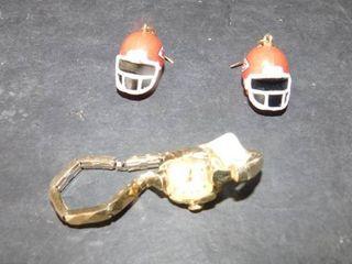 KC Chiefs Earrings   Watch