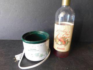 Potpourri Crock   Scented liquid