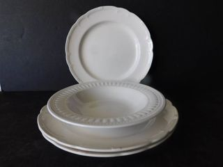 French Plates  3 ea