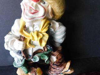 Rodeo Clown Figurine