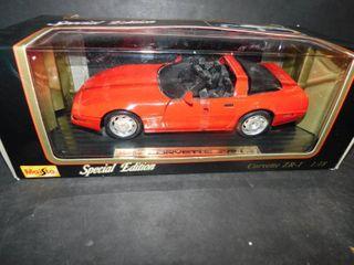 Special Edition Maisto Corvette ZR1 scale model