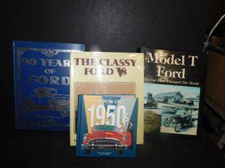 4 Car Books