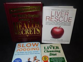 lot of 4 Health Related Books