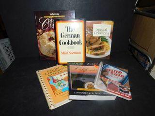 lot of 6 Cookbooks