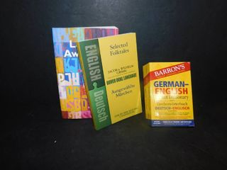 lot of 3 language Books