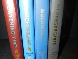 lot of 4 Hunger Games Books